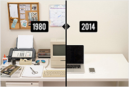 évolution du bureau