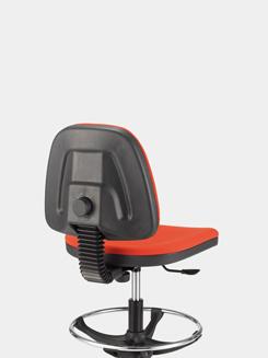 Chaise ergonomique tapissee TECKNIC
