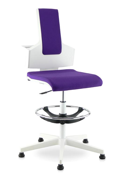 Chaise technique Blanche PUSKA