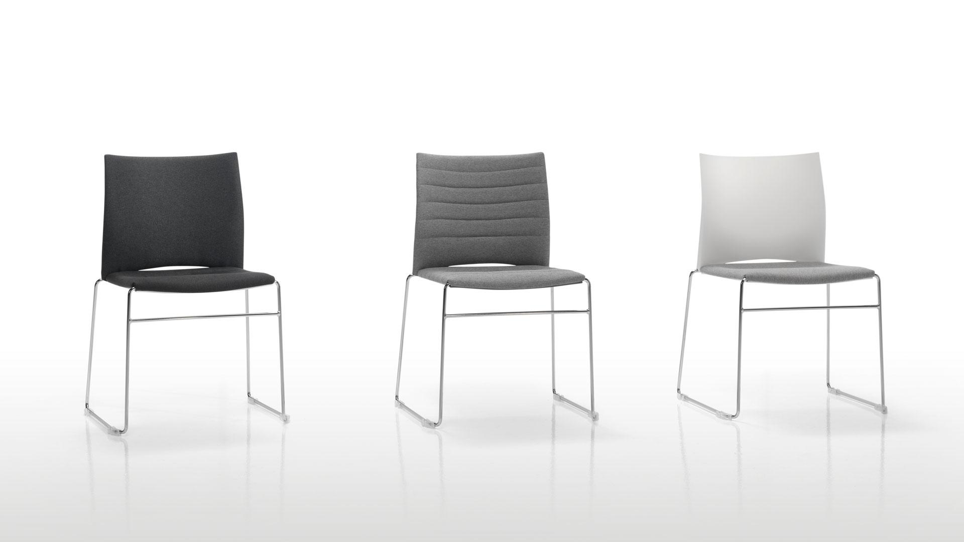 chaise de r union design slim 2m mobilier bureau. Black Bedroom Furniture Sets. Home Design Ideas