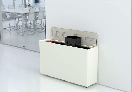 corbeille de recyclage zell 2m mobilier bureau. Black Bedroom Furniture Sets. Home Design Ideas
