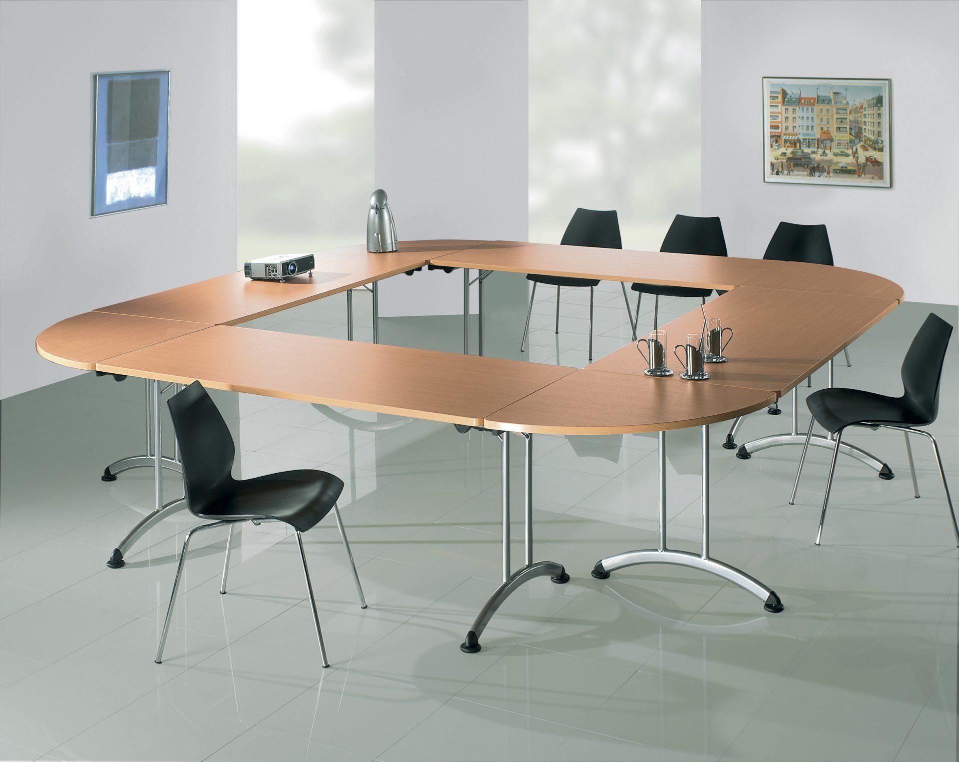 Tables Pliantes Pour Reunions 2m Mobilier Bureau