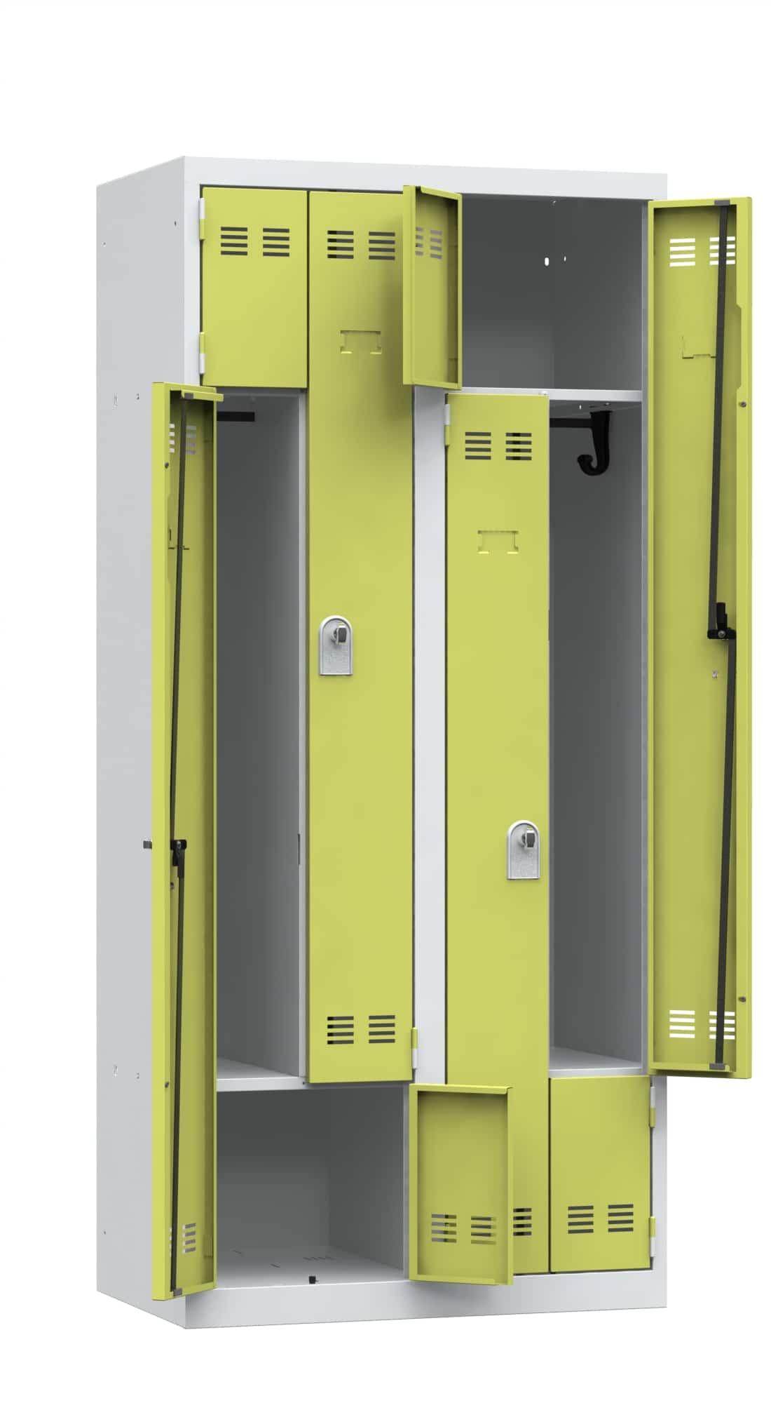 vestiaire monobloc gain de place vinco 2m mobilier bureau. Black Bedroom Furniture Sets. Home Design Ideas