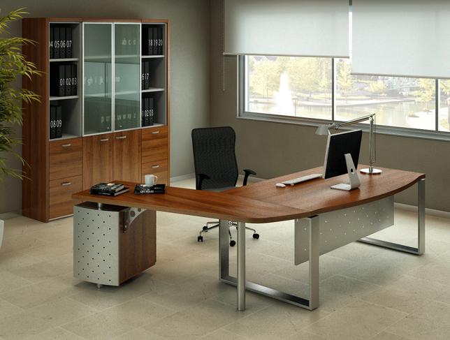 Bureau en bois de direction time m mobilier bureau