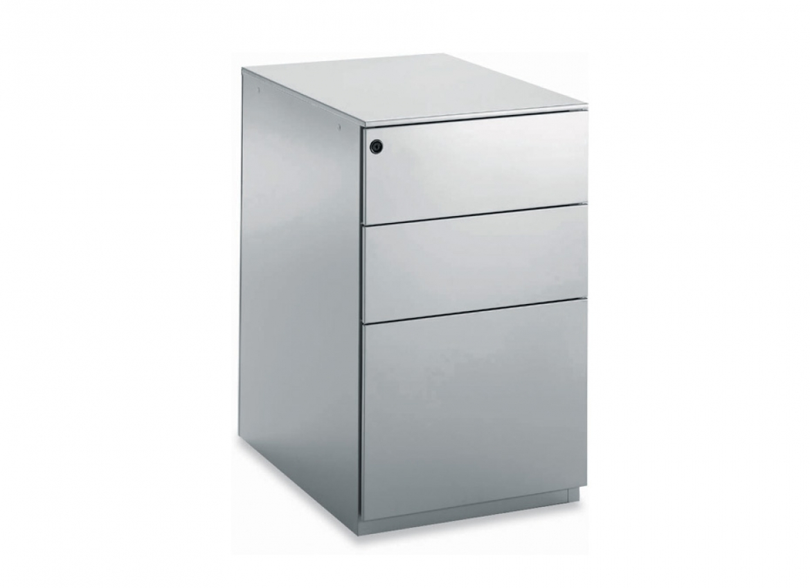 Caisson de bureau mobile 3 tiroirs paisible 2m for Catalogue de bureau