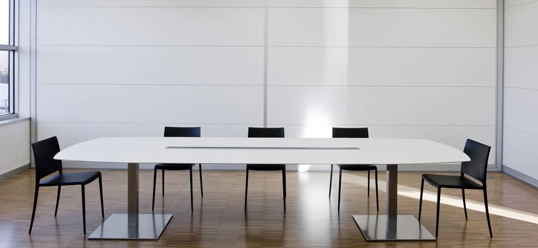 table de r union fixe 6 personnes plano 2m mobilier bureau. Black Bedroom Furniture Sets. Home Design Ideas