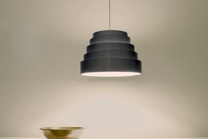 Lampe de bureau suspendue contemporaine babel