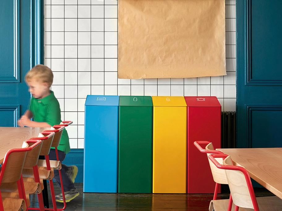 corbeille de bureaux professionnels 25 litres berna. Black Bedroom Furniture Sets. Home Design Ideas