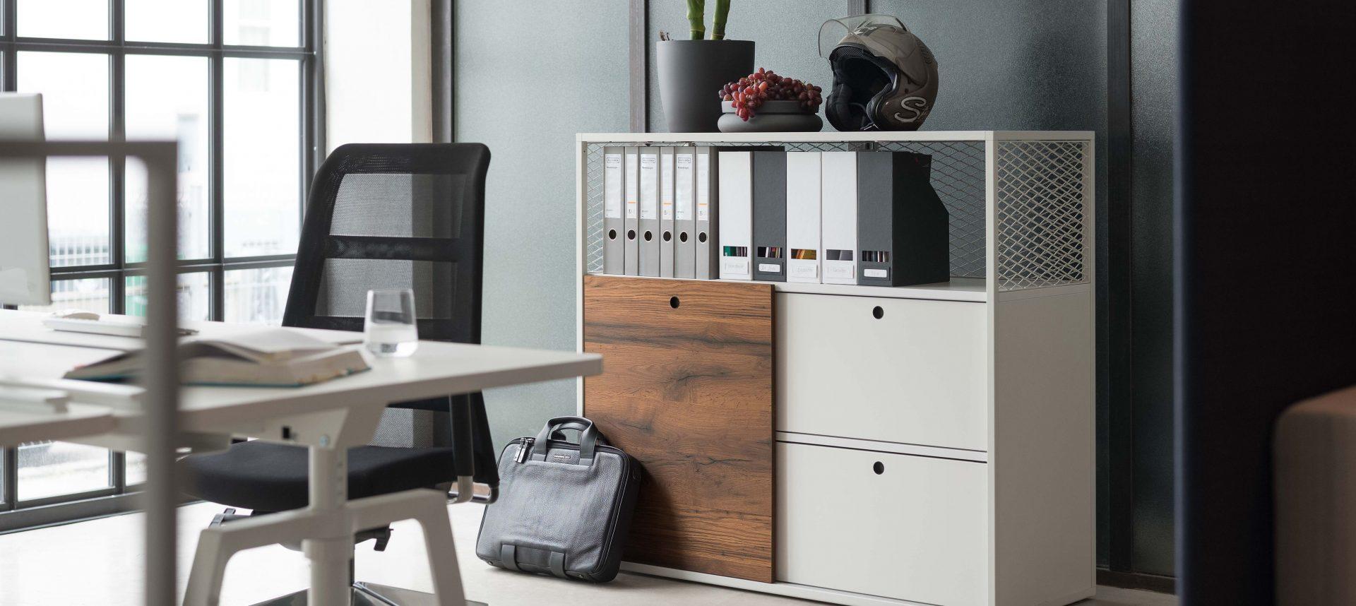armoire de rangement avec etag res contemporaine cage. Black Bedroom Furniture Sets. Home Design Ideas