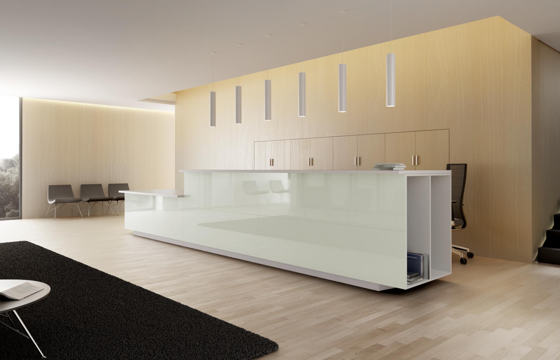 Banque d accueil moderne et modulable réception modèles design